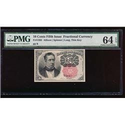 10 Cent Fifth Issue Fractional Note PMG 64EPQ