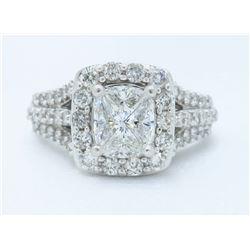 14KT White Gold 1.40ctw Diamond Ring