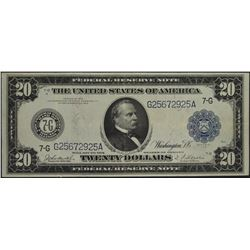 1914 $20 Chicago Federal Reserve Note