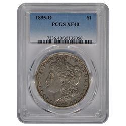 1895-O $1 Morgan Silver Dollar Coin PCGS XF40