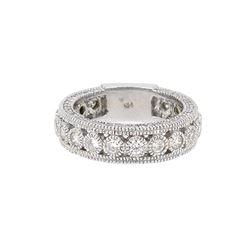 14KT White Gold 1.36ctw Diamond Ring