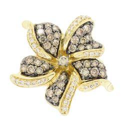 Levian 14KT Yellow Gold 1.50ctw Diamond Ring