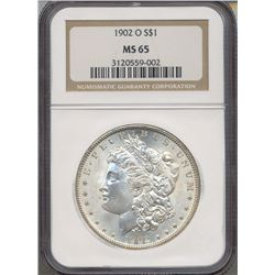 1902-O $1 Morgan Silver Dollar Coin NGC MS65