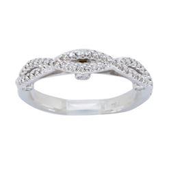 18KT White Gold 0.37ctw Diamond Ring