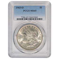 1903-O $1 Morgan Silver Dollar Coin PCGS MS65