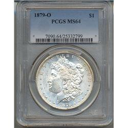 1879-O $1 Morgan Silver Dollar Coin PCGS MS64