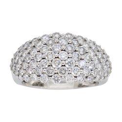 14KT White Gold 1.60ctw Diamond Ring