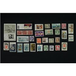 A Group of Western Stamps.