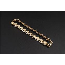 10K Gold Bracelet.