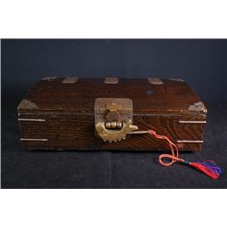 An Early 20th Century Old Elm Box.