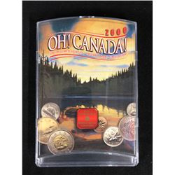 2000 ROYAL CANADIAN MINT OH CANADA! 7 PIECE COIN SET