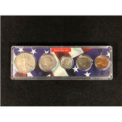 1938 U.S.A BIRTH YEAR COIN SET 900 SILVER