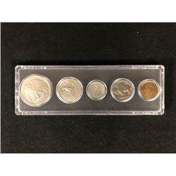 1935 U.S.A BIRTH YEAR COIN SET 900 SILVER