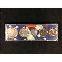 1958 U.S.A BIRTH YEAR COIN SET 900 SILVER