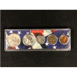 1956 U.S.A BIRTH YEAR COIN SET 900 SILVER