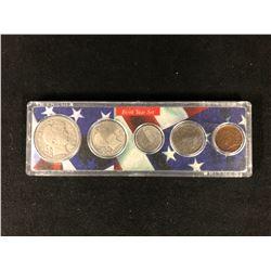 1908 U.S.A BIRTH YEAR COIN SET 900 SILVER