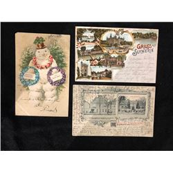 EARLY 1900'S GERMAN POSTCARDS LOT