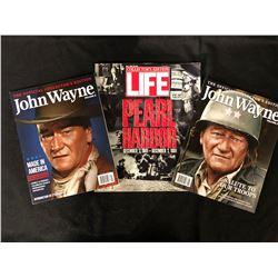VINTAGE JOHN WAYNE/ LIFE MAGAZINE LOT