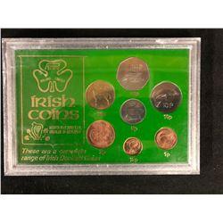 COMPLETE RANGE OF IRISH DECIMAL COINS