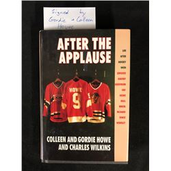 """GORDIE & COLLEEN HOWE SIGNED """"AFTER THE APPLAUSE"""" BOOK"""