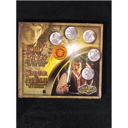 LORD OF THE RINGS FOTR REEL COINZ (ROYAL CANADIAN MINT)