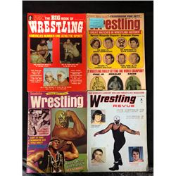VINTAGE WRESTLING MAGAZINES LOT (1972-73)