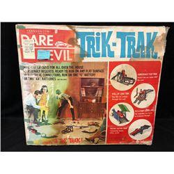 1963 DARE DEVIL TRIK-TRAK W/ ORIGINAL BOX (COMPLETE)
