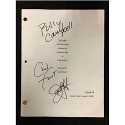 "JOEL GRETSCH/ CHAD FAUST/ BILLY CAMPBELL SIGNED ""THE 4400"" SCRIPT W/ COA"