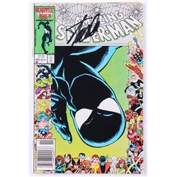 "Stan Lee Signed 1986 ""The Amazing Spider-Man"" Issue #282 Marvel Comic Book (Lee COA)"