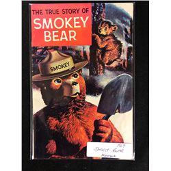 1969 SMOKEY BEAR PROMOTIONAL COMIC BOOK