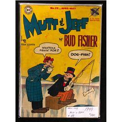 1949 MUTT & JEFF #39 (DC COMICS)