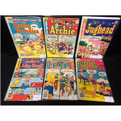 ARCHIE SERIES COMIC BOOK LOT (1970'S)