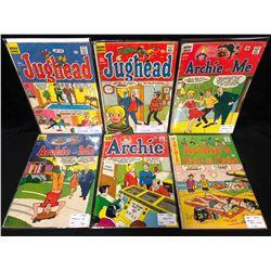 ARCHIE SERIES COMIC BOOK LOT (1960'S)