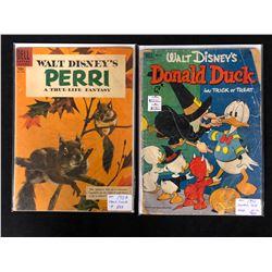 1950'S COMIC BOOK LOT (PERRI #847/ DONALD DUCK #26)