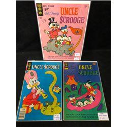1970'S UNCLE SCROOGE COMIC BOOK LOT (GOLD KEY COMICS)