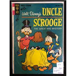 1964 UNCLE SCROOGE #52 (GOLD KEY COMICS)