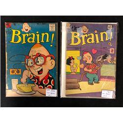 THE BRAIN COMIC BOOK LOT (#1/ #9)