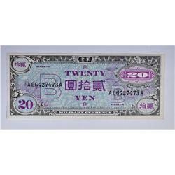 SERIES 100 1945 20 YEN