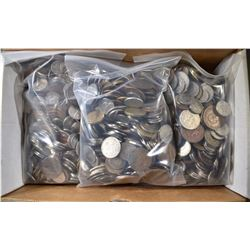 16- POUNDS WELL MIXED FOREIGN COINS
