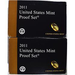2-2011 U.S. PROOF SETS ORIG PACKAGING