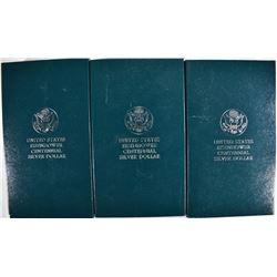 3-1990 EISENHOWER PROOF COMMEM SILVER DOLLARS