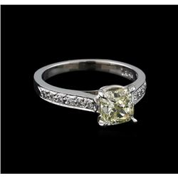 1.77 ctw Diamond Ring - 14KT White Gold