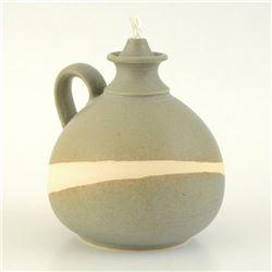 Ceramic Oil Lamp by Tamosiunas, Eugenijus