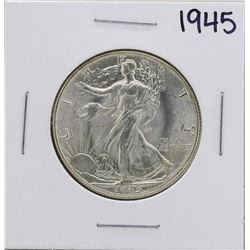 1945 Walking Liberty Half Dollar Coin