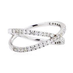 0.64 ctw Diamond Ring - 14KT White Gold