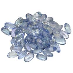 12.64 ctw Oval Mixed Tanzanite Parcel