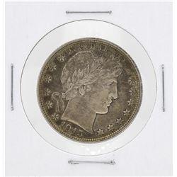 1915D Barber Head Quarter Silver Coin