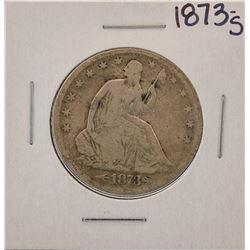 1873-S Seated Liberty Half Dollar Coin