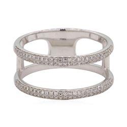 0.3 ctw Diamond Ring - 14KT White Gold