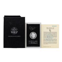1885-CC $1 Morgan Silver Dollar Coin Uncirculated GSA w/Box & COA